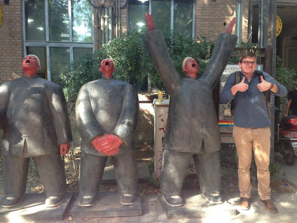 Cullen Stubbs at Beijing art park