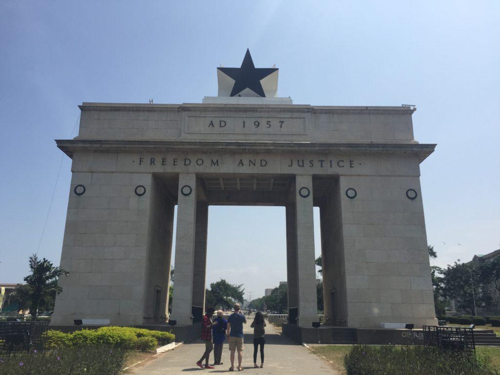 Accra, Ghana arch