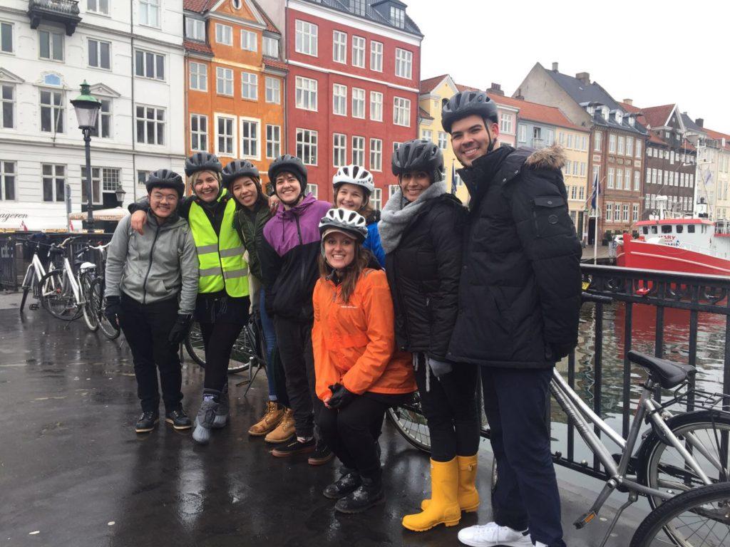 Bike tour in Copenhagen