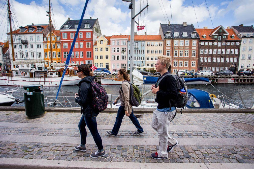 Harbor in Copenhagen