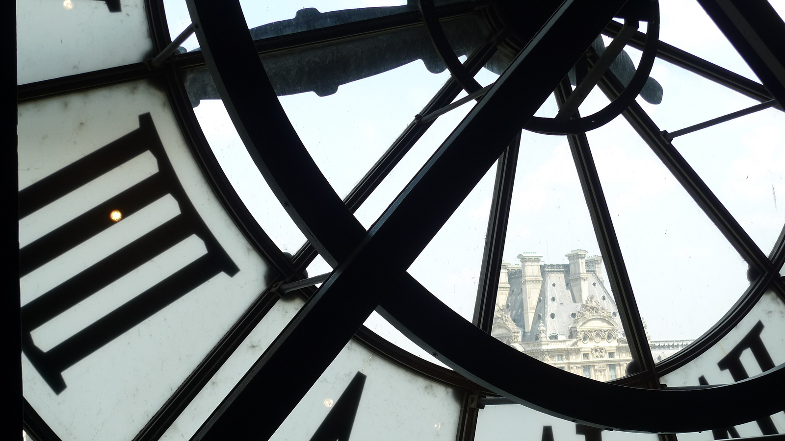 Clock tower in France