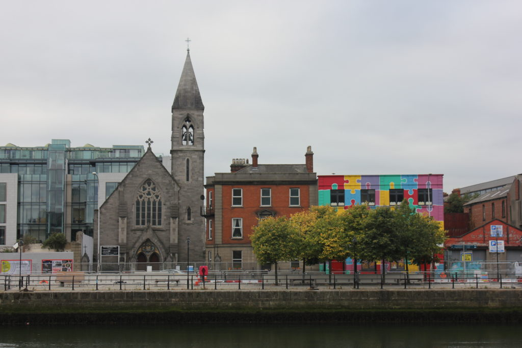 Dublin Street with Cathedral