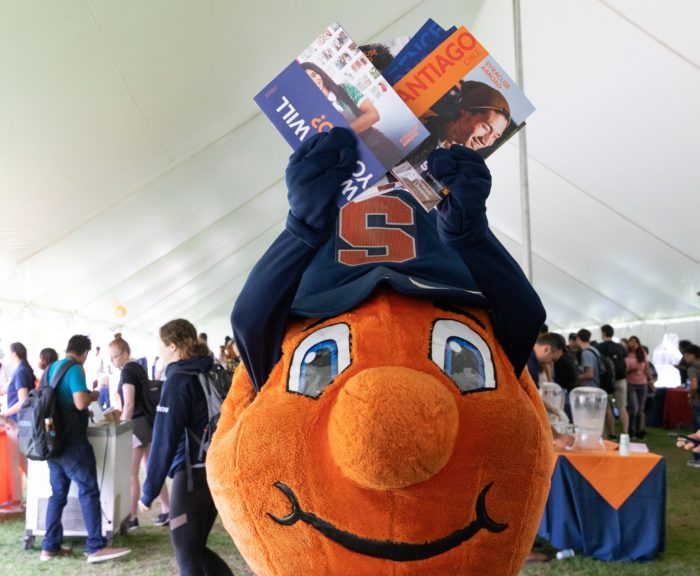 Otto st Syracuse Abroad day