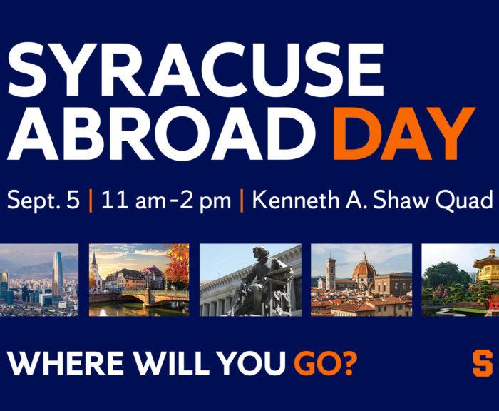 Syracuse Abroad Day