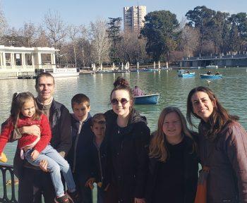 Madrid host family