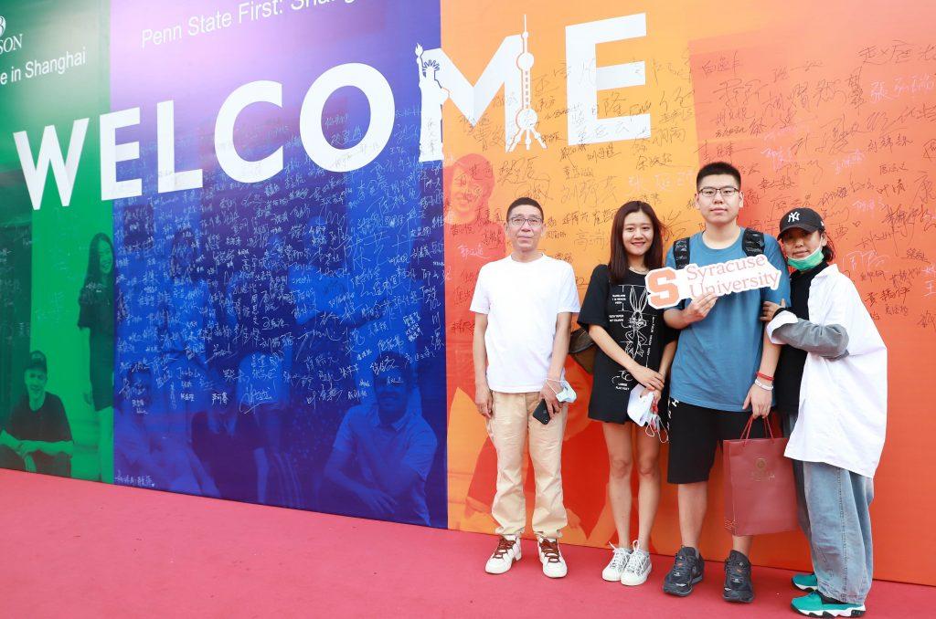 arrival in shanghai