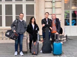 Music students in Strasbourg