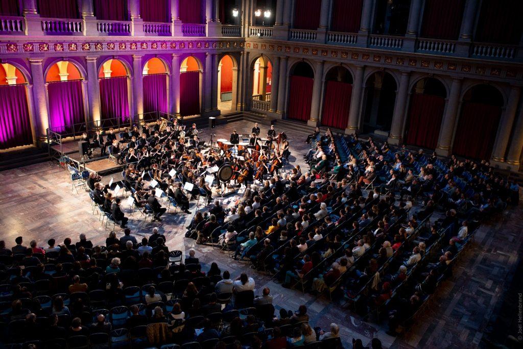 Orchestra in Strasbourg, France